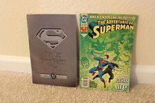 Superman, Vol. 2 #75 (Death) & Adventures of Superman, Vol. 1 #500 (Return) - VG
