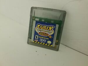 CUBIX ROBOTS FOR EVERYONE game Gameboy Color Cartridge Only Cleaned & Tested N26