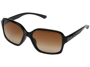 d590052257d Image is loading Oakley-Womens-Proxy-Sunglasses-Polished-Black-VR50-Brown-