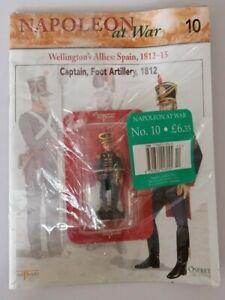 Del-Prado-Napoleon-at-War-Issue-10-Captain-Foot-Artillery-1812