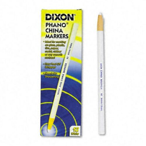 2 or 12 Various Quantities 1 Dixon White China Marker