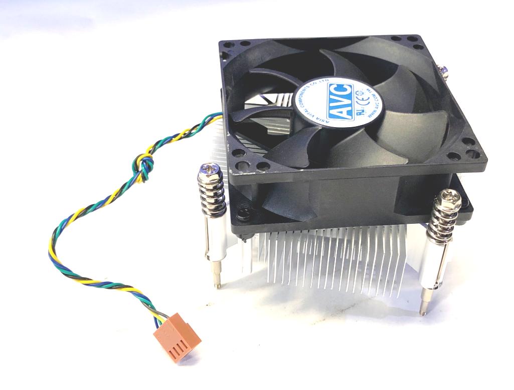 (Lot of 2) 00KT155 Lenovo ThinkCentre M800 Genuine CPU Cooling Fan w/Heatsink
