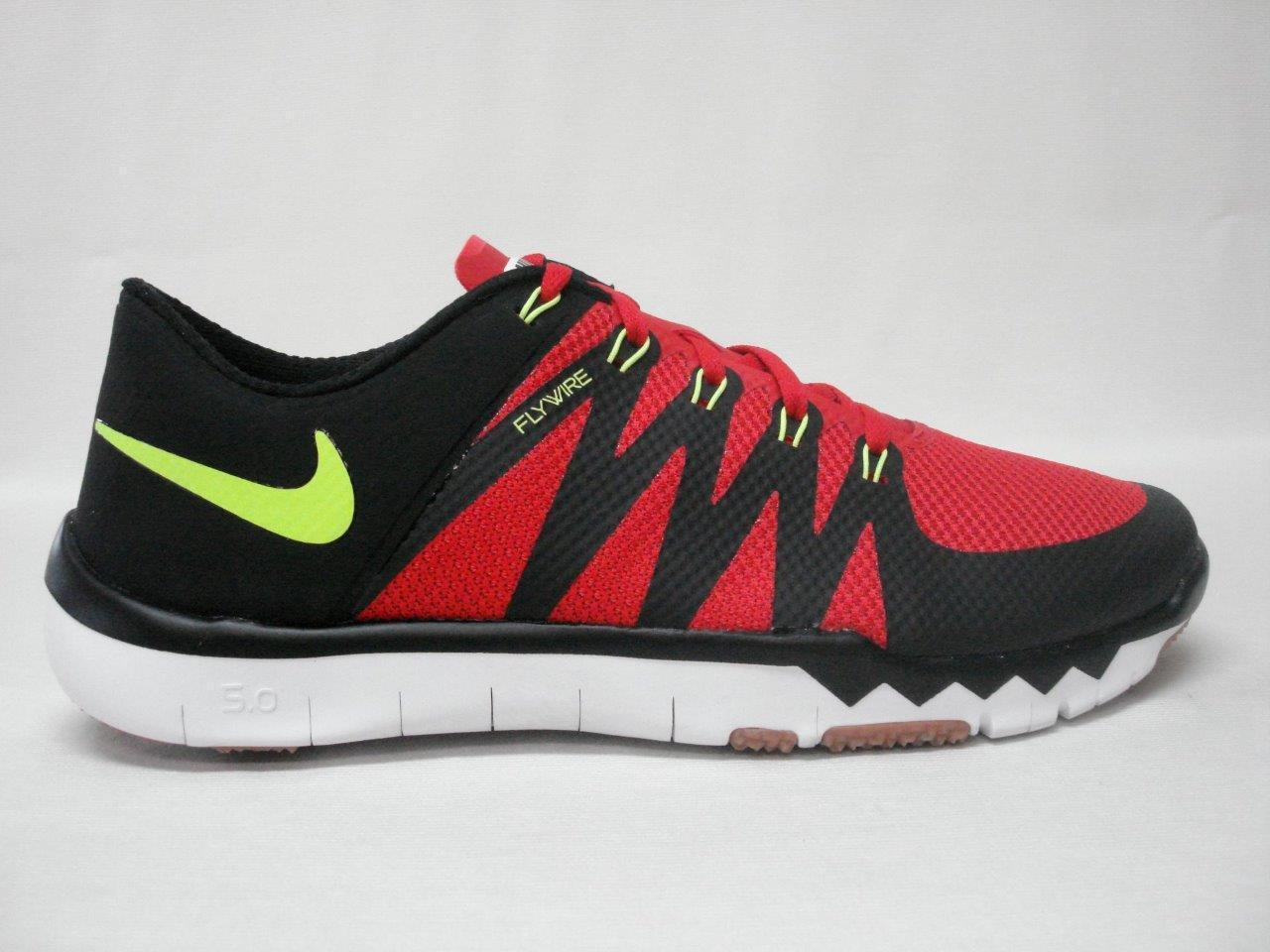 NIB NIKE FREE TRAINER 5.0 V6 MEN'S SHOE'S 12 RED-BLACK~SWEET LOOKING SHOE'S Cheap and beautiful fashion