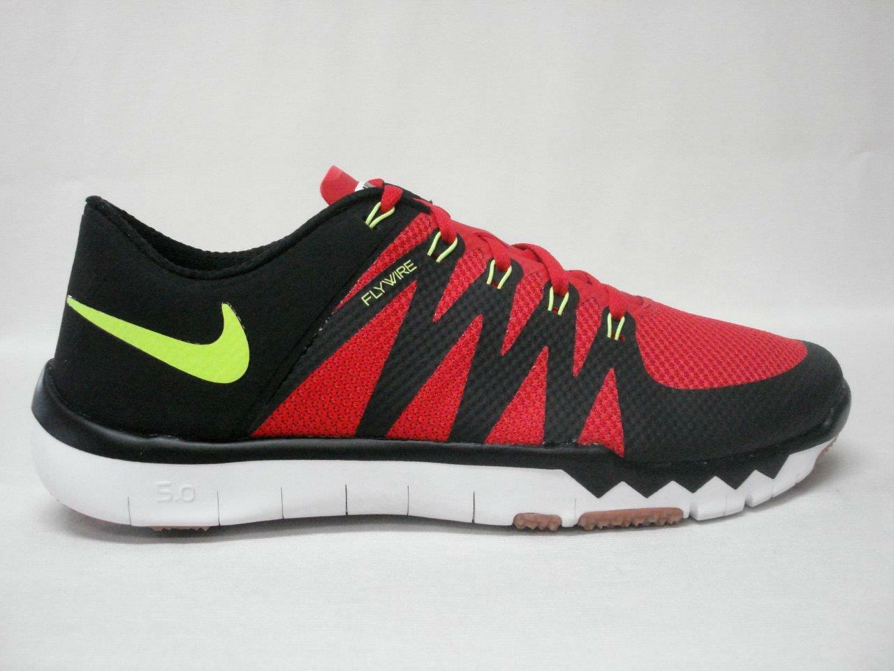 on sale 341dc 6b043 NIB Nike Free Trainer 5 V6 V6 V6 Hombre zapato 12 Rojo Negro ~ dulce  buscando
