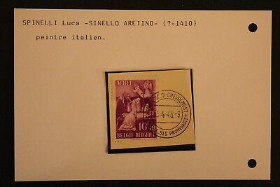 Hingebungsvoll Briefmarke Belgien t3 Yvert Und Tellier Nr.776 Gestempelt