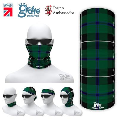 Nicholson Clan Scottish Tartan Multifunctional Headwear Neckwarmer  Bandana