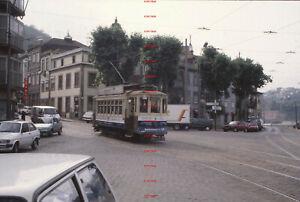 RYD518= PORTUGAL Porto tram 223 in 1993 2 Original 35mm slides