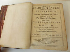 1764 The BOOK of COMMON PRAYER & The PSALTER Full Calf Binding CAMBRIDGE Bible