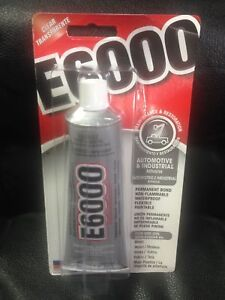 2aa3bdd4f825 Image is loading E6000-INDUSTRIAL-STRENGTH-CLEAR-GLUE-CRAFT-ADHESIVE-3-