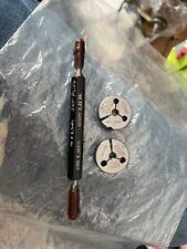 New Listingagmaco Thread Ring Gage Set Plug Go Pd 5324 No Go Pd 521
