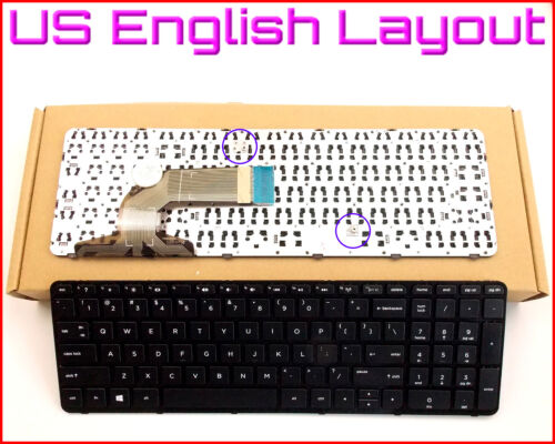 New Laptop US Keyboard For HP 749658-001 720597-001 708168-001 With Frame