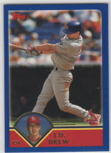2003-Topps-Baseball-Saint-Louis-Cardinals-Complete-Team-Set-Series-1-and-2