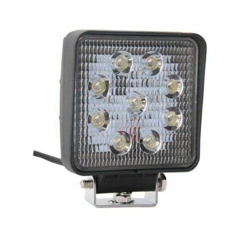 Brand 2x27W 12V 24V LED Work Light SPOT Lamp Tractor Truck SUV UTV ATV Off-road