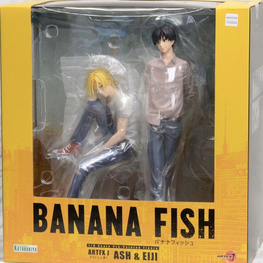 MegaHouse Banana Fish G.E.M.series Ash Lynx figure PVC//ABS Japan F//S