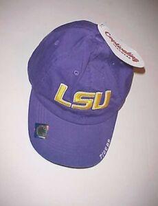 best loved cfaf6 b0cc5 Image is loading LSU-Tigers-Football-NCAA-SEC-Adult-Unisex-Purple-