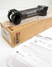 "New LOOK Bicycle Matte Black Carbon Fiber Stem 130mm 1 1/8"" 25.8"