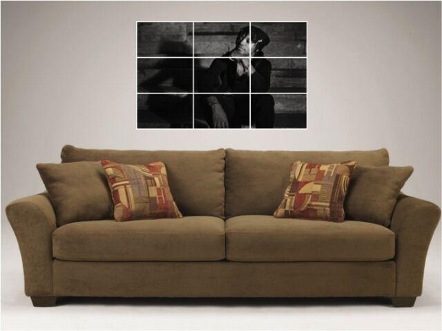 "DRAKE /& WEEKND BORDERLESS MOSAIC TILE WALL POSTER 35/""x 25/"" WEEKEND HIP HOP RAP"