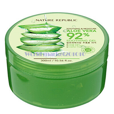 Nature Republic Soothing & Moisture Aloe Vera Soothing Gel 300ml freebie