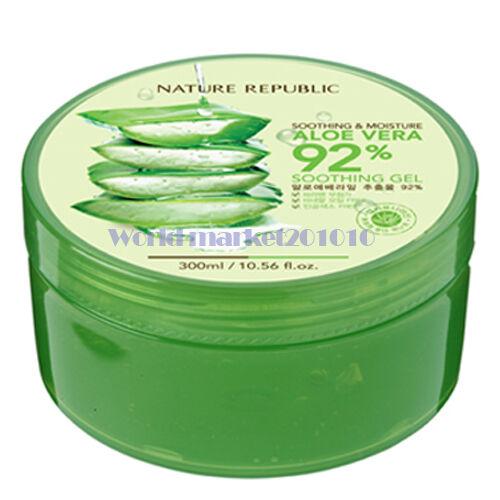Nature Republic Soothing & Moisture Aloe Vera Soothing Gel 300ml freebie