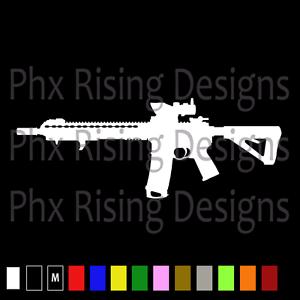 AR-15 AR15 Gun Vinyl Decal Sticker