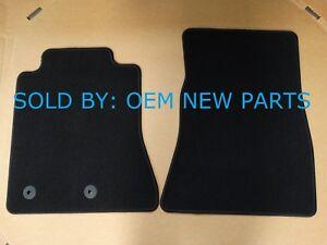 2015-2018 Ford Mustang Front Carpet Floor Mats Black OEM ...