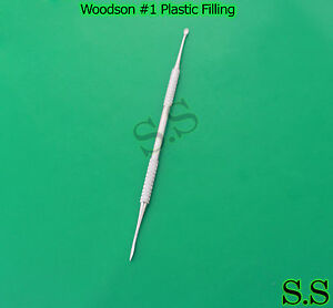 woodson 1 plastic filling dental instruments ebay