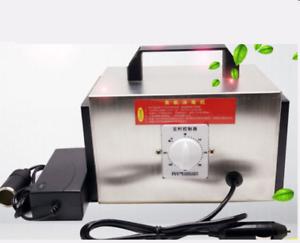 10g Car Portable Ozone Generator Air Purifier Disinfection Machine 12V