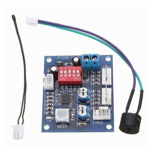 Ventola CPU controllo temperatura automatica Regolatore CC di velocità 12V JF