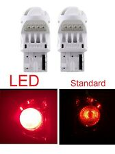 2x Philips 7440 Red Bright 6000K LED Lamp Turn Signal Tail Brake Stop Light Bulb