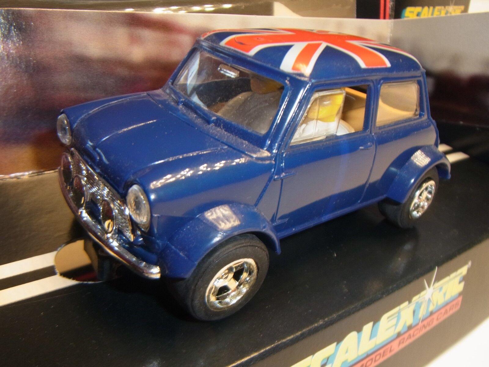 Scalextric Mini Blu C399 per Pista Slot Car 1 3 2