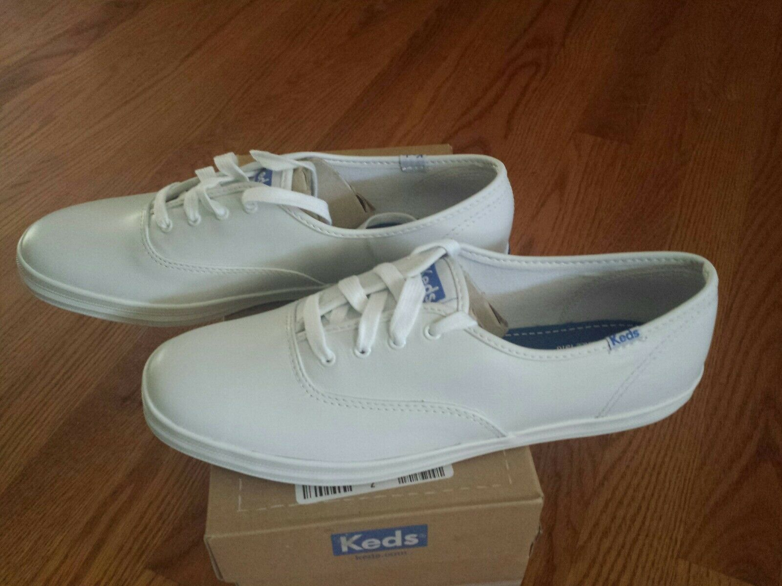 Brand New Keds Champion White Leather shoes