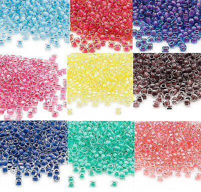 Japanese Matsuno Glass Seed Beads #12 RR11//207 Purple Round Hole Rocailles Bead