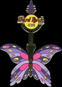 Hard-Rock-Cafe-HOLLYWOOD-CA-2004-Tattoo-BUTTERFLY-Guitar-Series-PIN-HRC-21844