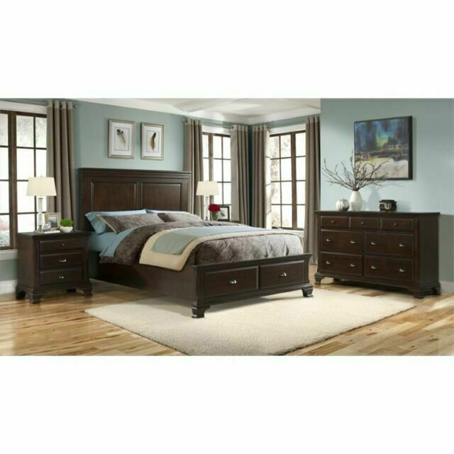 Picket House Furnishings Cn350kb6pc Brinley King Size Bedroom Set 6 Pieces Cherry For Sale Online Ebay