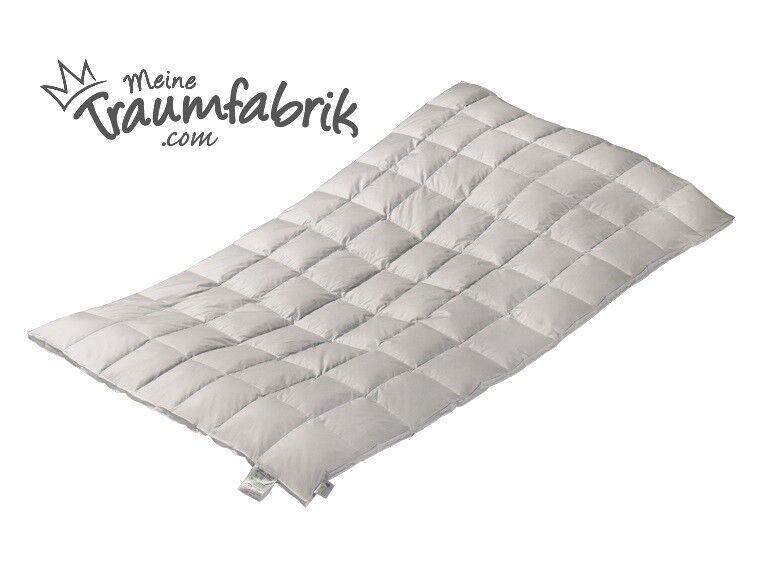 Original Eiderdaunen- Bettdecke,versch. Ausführungen,Winterliche Ganzjahresdecke