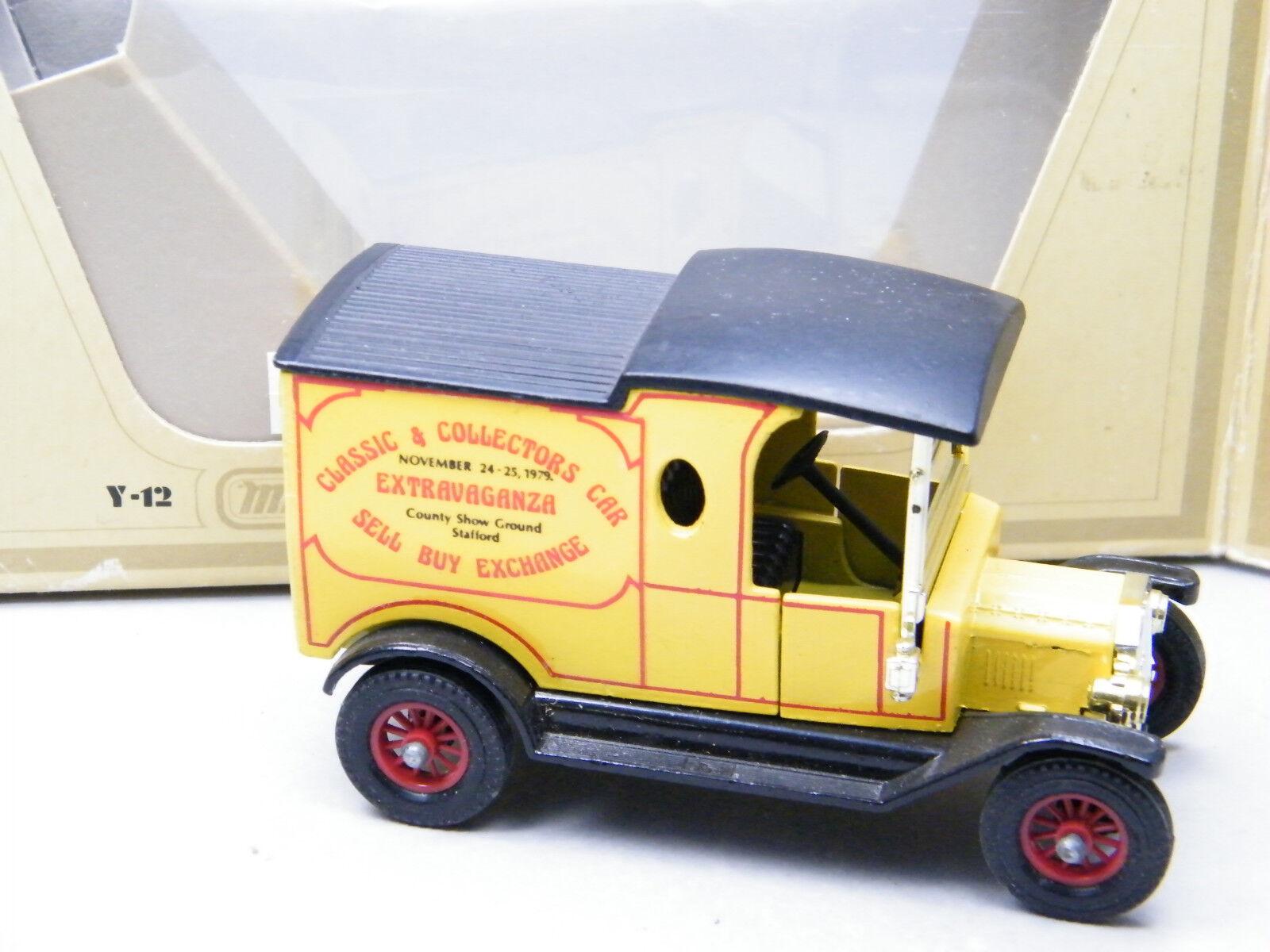 Matchbox MoY C2 Ford T Model Extravaganza OVP OVP OVP gesuchtes Modell Bilder  K31 429d97