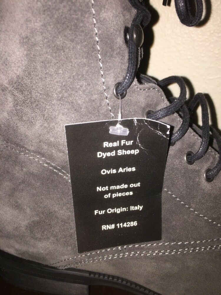 Aquatalia Mens Fur Boots. Waterproof. Size 10.5.