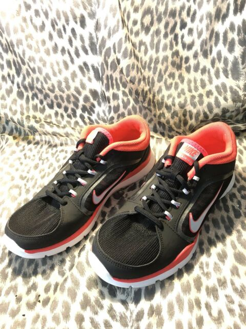 2d3fbef19a9a NIKE FLEX TRAINER 4 INSOLES BLACK 643083-002 WOMENS RUNNING SHOES SZ 8 US