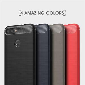 60c5bb190 Ultra Slim Carbon Fiber Shockproof Soft TPU Case Back Cover For ASUS ...