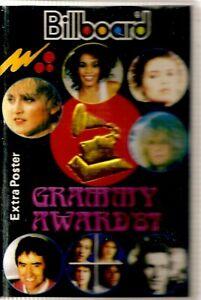 Various-Artists-Grammy-Awards-87-Import-Cassette-Tape