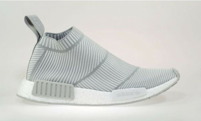 925b89358 adidas NMD Cs1 PK City Sock Primeknit Size 9.5 S32191 White Grey for ...