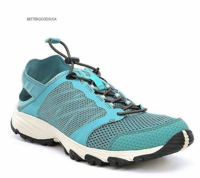 d3b528d1f The North Face Women's Litewave Amphibious II Shoes Hiking SNEAKERS Blue  8.5 M