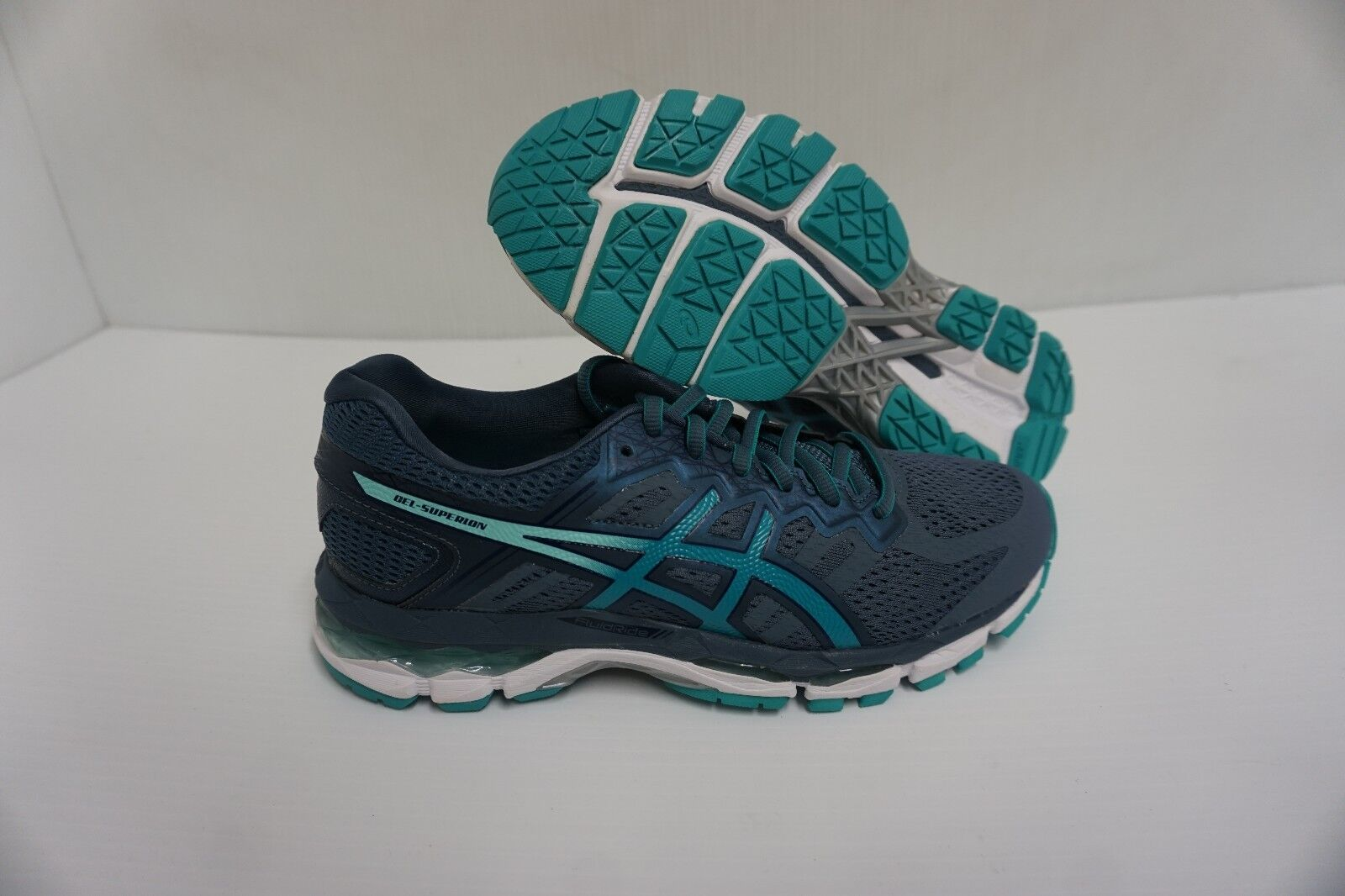 Asics women's gel-superion smoke blue running shoes size 6.5 us new Great discount