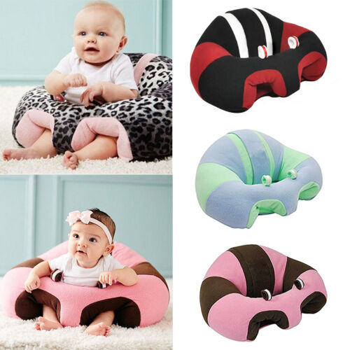 Hot Baby Plush Snow Leopard Sitting Chair Toy Learning Chair Easy to Use NEW