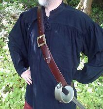 Pirate sword baldric belt larp cosplay theatre jack sparrow carribean buccaneer