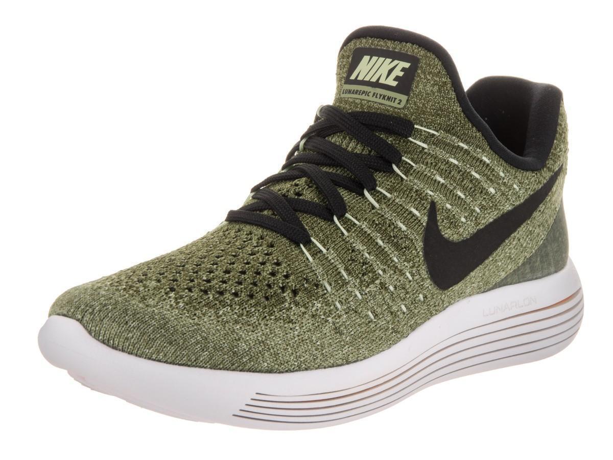 Da Donna Nike lunarepic basso basso basso Flyknit 2 Palm Scarpe da ginnastica Verde 863780 300 26e555