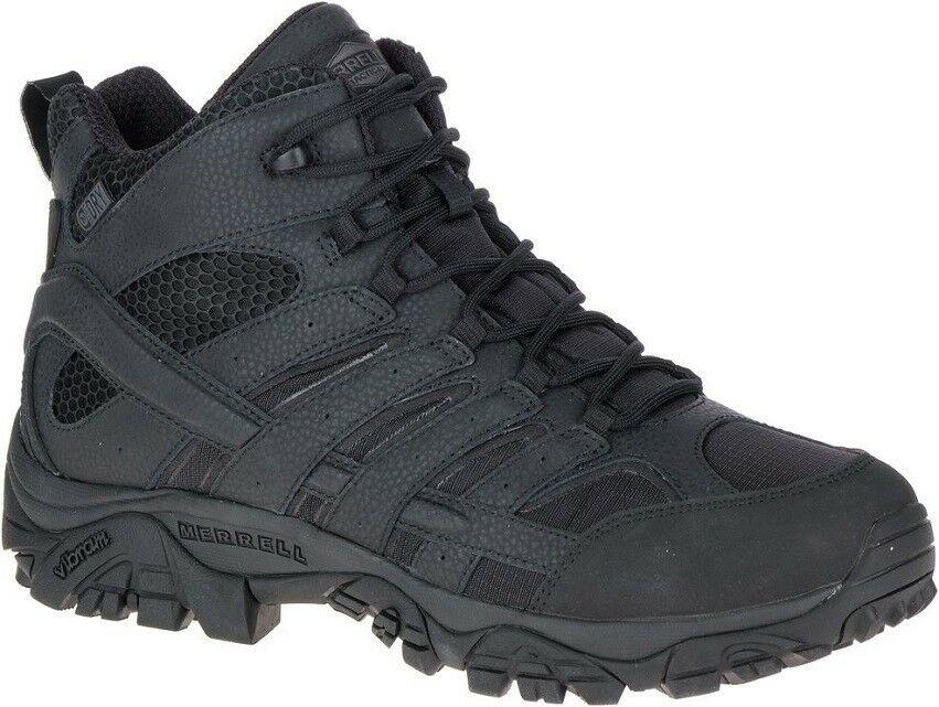 Merrell Moab 2 mid waterproof j15853 táctico ejército botas botas de combate caballeros