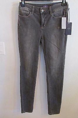 NWT NYD JEANS SIZE 4 /& 6 DORCH GREY SUPER SKINNY  MSRP $124.00
