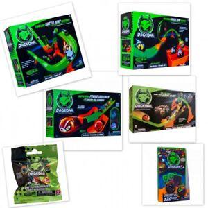 DaGeDar-Battle-Jump-Raceway-Rennbahn-Figur-Ball-Kugel-Sammeln-Blister-Booster