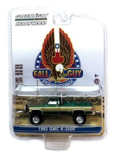 Greenlight 1982 GMC K-2500 Truck Fall Guy ein Colt für alle Fälle GREEN MACHINE